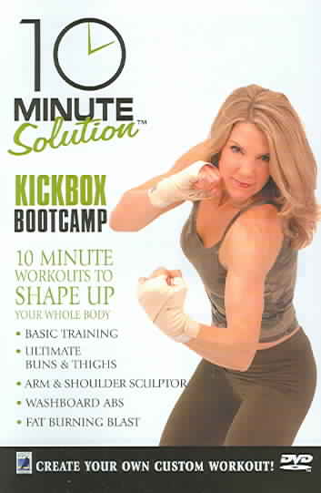 10 MINUTE SOLUTIONS KICKBOX BOOTCAMP BY DOZOIS,MICHELLE (DVD)